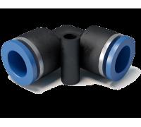 Фитинг соединительный угловой 10 мм,  упаковка (10 шт)
