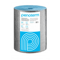 Самоклеящийся материал для теплошумоизоляции систем кондиционирования и вентиляции Penoterm НПЭ ЛФ-С, рулон