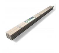 Рейка деревянная SoundGuard ВиброЛайнер  1525х47x24мм
