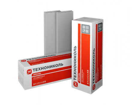 Экструзионный пенополистирол ТЕХНОНИКОЛЬ XPS CARBON SOLID 500 2400х600х100 -L мм (4 плиты; 5,76 м2; 0,576 м3)