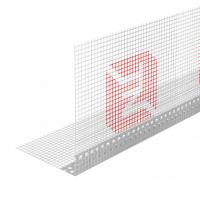 Профиль угловой ПВХ с армирующей сеткой 10*15 ТЕХНОНИКОЛЬ (100 шт в упаковке)